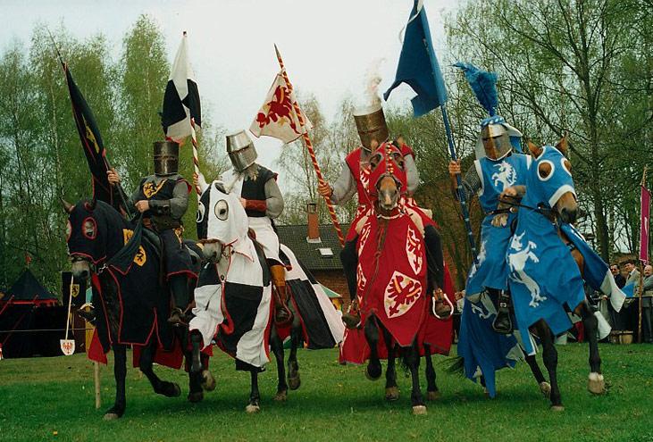 Incanto Mittelalterliche Gaukler Ritter Und Barden